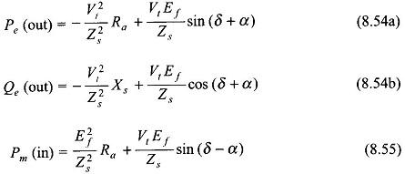 Power FLow Transfer Equations