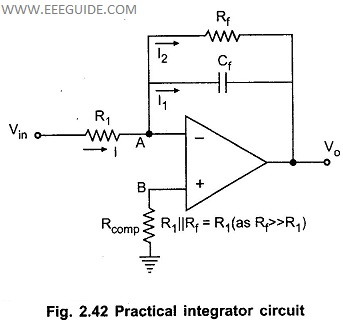 Brilliant Integrator Circuit Using Opamp Basic Electronics Wiring Diagram Wiring Cloud Pimpapsuggs Outletorg
