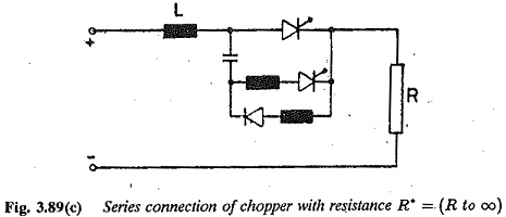 Chopper Controlled Resistance
