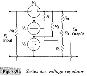 Series DC Voltage Regulator