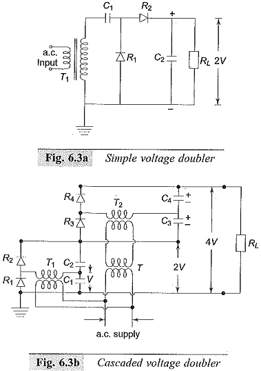 Voltage Doubler Circuits