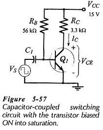 Biasing Transistor Switching Circuits