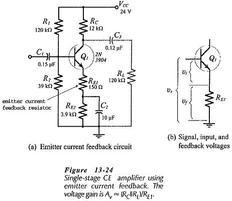 Emitter Current Feedback Circuit