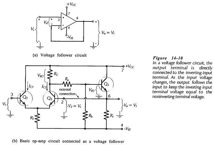 Voltage Follower Circuit Diagram