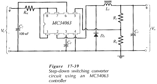 IC Controller for Switching Regulators