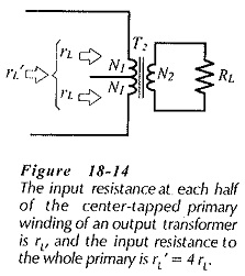 Transformer Coupled Amplifier Design