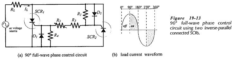 SCR Control Circuit Diagram