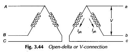 open delta transformer bank wiring diagram three phase transformer connections  three phase transformer connections
