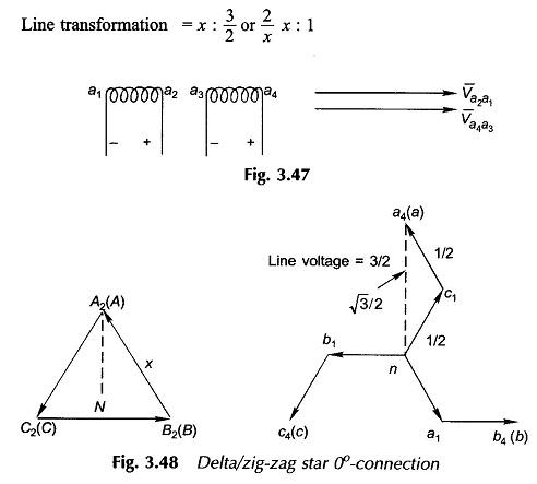 [ZHKZ_3066]  Three Phase Transformer Connections | Zig Zag Transformer Wiring Diagram |  | EEEGUIDE