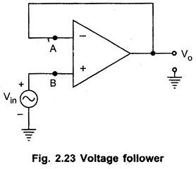 Voltage Follower Op Amp