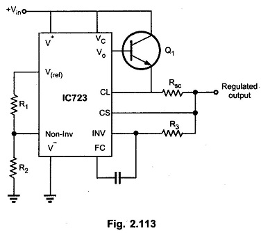 Low Voltage High Current Regulator