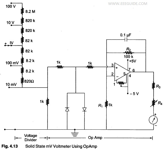 Solid State Voltmeter