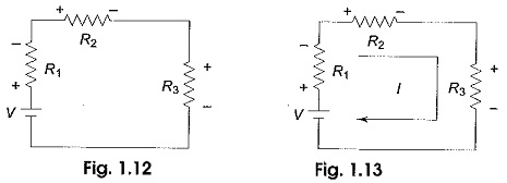Kirchhoff's voltage law examples