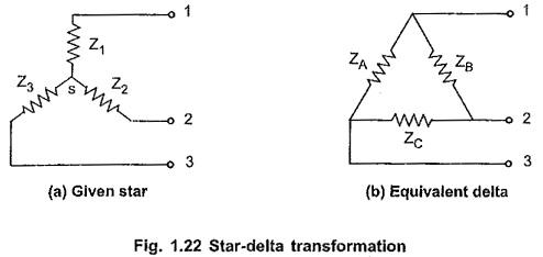 Star to Delta Conversion Formula