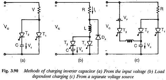 Charging a Capacitor in Inverter