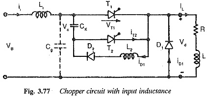 Chopper Circuit with Input Inductance