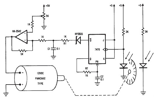 Control of DC Electric Motor
