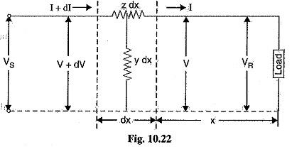 Long Transmission Line Voltage