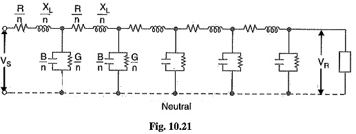 Long Transmission Line Voltage