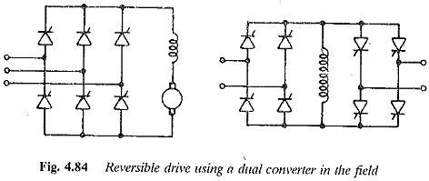 Reversible Drive using Field Reversal