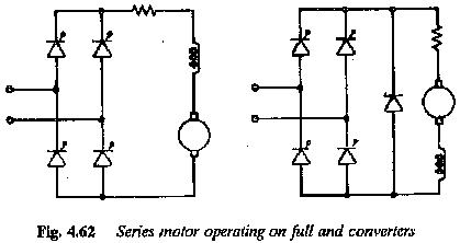 Single Phase DC Series Motor Drives