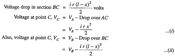 DC Distribution Calculation