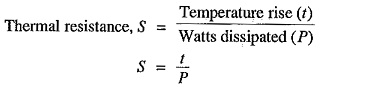 Thermal Resistance to Heat Flow