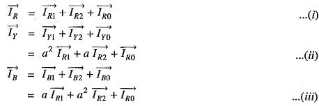 Unbalanced Phase Current