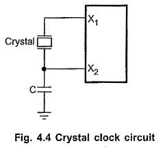 8085 Clock Circuit