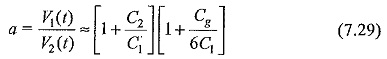 Capacitance Voltage Dividers