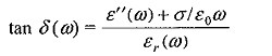 Dielectric Constant and Loss