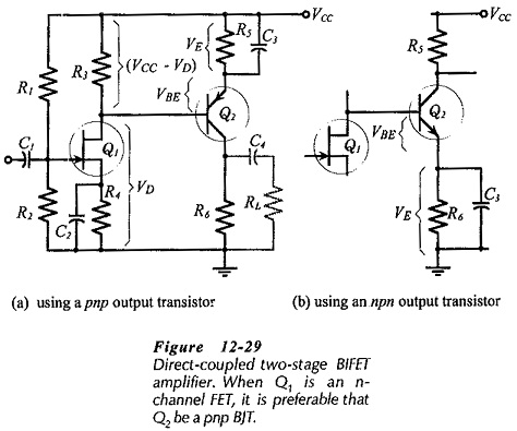 BIFET Amplifier