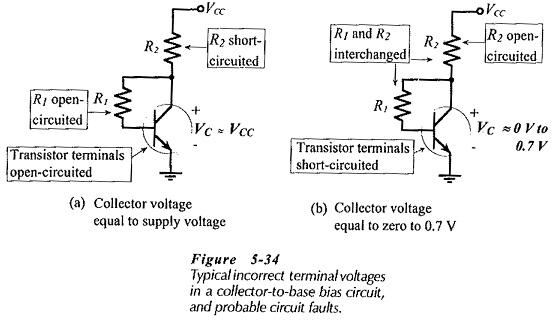 BJT Bias Circuit Troubleshooting