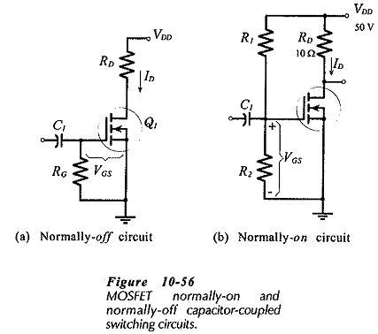 Biasing FET Switching Circuits