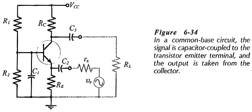 Common Base Circuit Diagram
