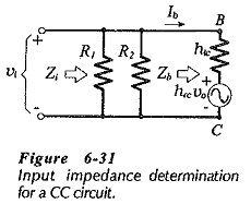 Common Collector Circuit Analysis