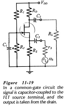 Common Gate Circuit