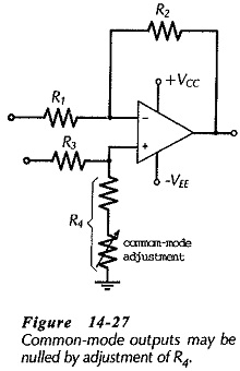 Differential Amplifier Circuit Operation