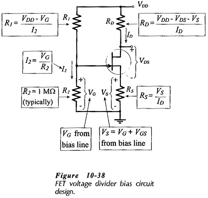 JFET Bias Circuit Design