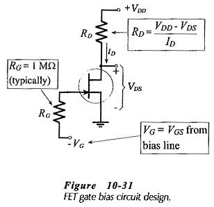 JFET Bias Circuit Design