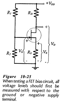 JFET Bias Circuit Troubleshooting