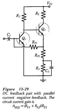 Parallel Current Negative Feedback Circuit