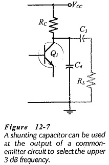 Single Stage Common Emitter Amplifier Circuit