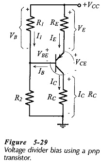 Voltage Divider Circuit using Transistor
