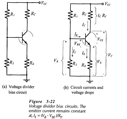 Voltage Divider Bias Circuit