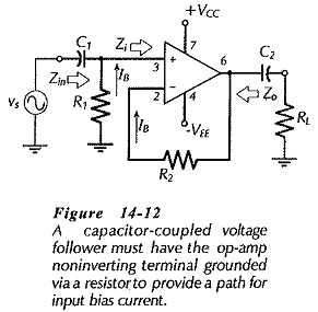 Voltage Follower Circuit Diagram