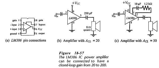 Audio Power Amplifier using IC Amplifier Driver