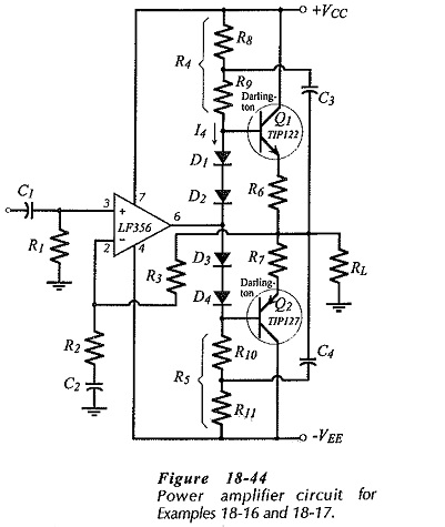 BJT Power Amplifier with Op Amp Driver