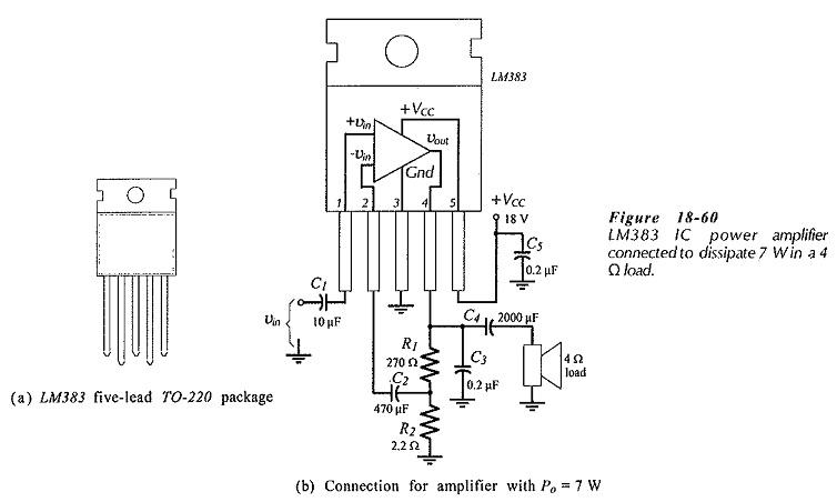 Bridge Tied Load Amplifier