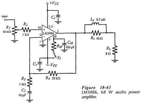 Bridge Tied Load Amplifier